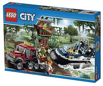 LEGO Juego de construcciones City, Arresto en aerodeslizador, 331 piezas, modelo 60071 1 unidad