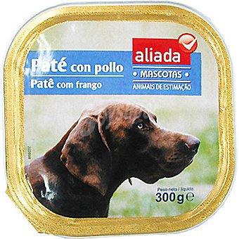 Aliada Paté con pollo para perro Tarrina 300 g
