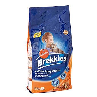Brekkies Affinity  Gato Mix pollo 1,5 kg