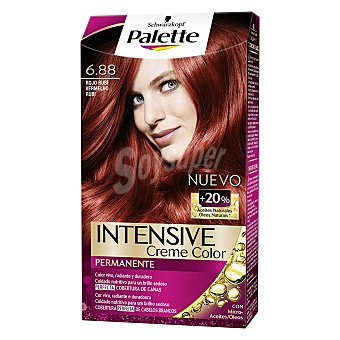 Palette Schwarzkopf Tinte intense color cream- 6.88 rojo rubí 1 ud
