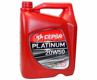 CEPSA Aceite mineral para vehículos gasolina, diésel 5 Litro