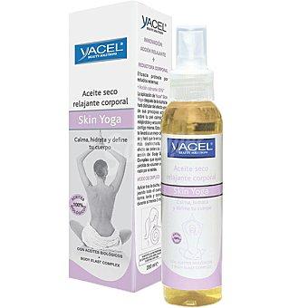 YACEL Skin Yoga Aceite seco relajante corporal con aceites biológicos calma hidrata y define tu cuerpo Frasco 125 ml