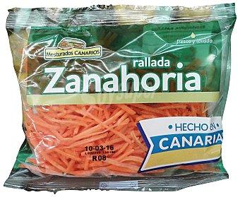 Zanahoria rallada Paquete 125 g