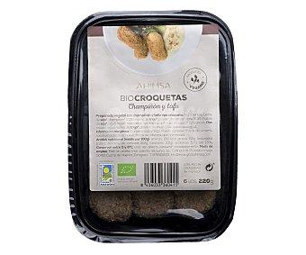 Biosurya Preparado vegetal con champiñon y tofu tipo croqueta ahimsa 220 gramos