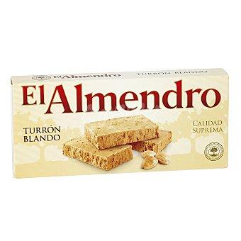 El Almendro Turrón blando con almendras sin azúcar Estuche 200 gr
