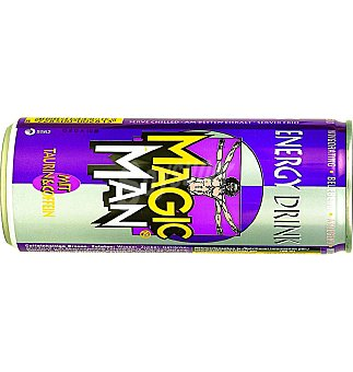 MAGIC MAN Refresco energetico 250 ML