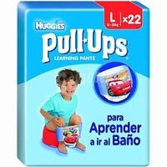 Huggies Pull Ups niño 16-23 kg Talla 6 Paquete 22 unid