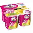Yogur desnatado de limón Pack 4x115 g CLESA