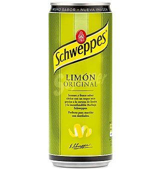 Schweppes Limón con gas Lata pack 8 x 330 cc - 2640 cc