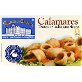 Palacio de Oriente Trozos de calamar en salsa Lata 111 g