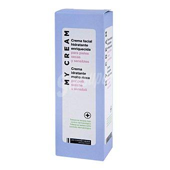 Les Cosmétiques Crema facial hidratante para pieles secas o sensibles 50 ml