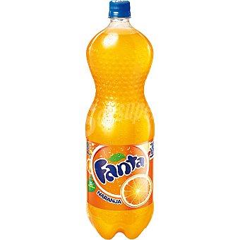 Fanta Refresco de naranja con gas  Botella 2 l