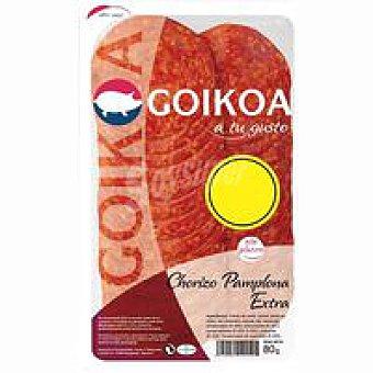Goikoa Chorizo Pamplona Bandeja 80 g
