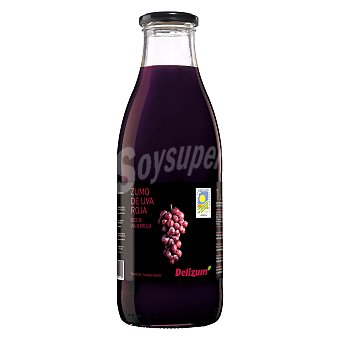 Delizum Zumo ecológico uva roja 1 l
