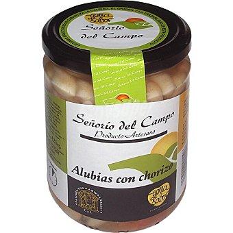 SEÑORIO DEL CAMPO Alubias blancas con chorizo frasco 425 g frasco 425 g