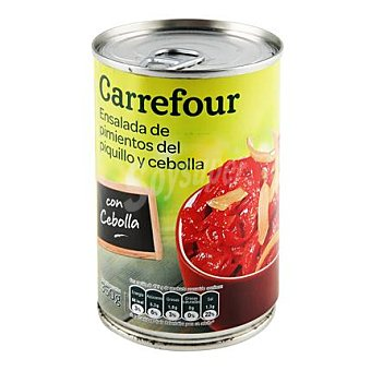 Carrefour Ensaladas de pimientos de piquillo y cebolla 350 g