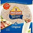 Tortitas Wrap original Foods 6 u 370 g Mission