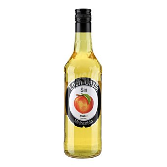 Loch Castle Licor sin alcohol sabor a melocotón 75 cl
