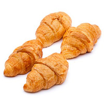 Eroski Mini croissant artesano Bandeja 6 unid