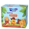 Galletas animales con chocolate ZOO Pack de 4x40 g Carrefour