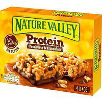 Nature Valley Cereales protein peanut&chocolate Caja 160 g