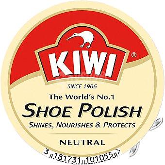Kiwi Crema para calzado color Incoloro 50 ml