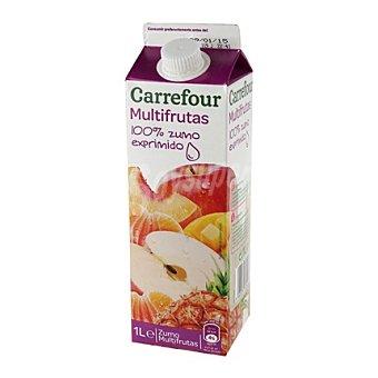 Carrefour Zumo multifrutas 100 % exprimido 1 l