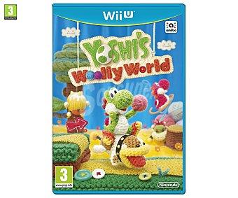 PLATAFORMAS Videojuego Yoshi's Woolly World para Nintendo Wii U. Género: plataformas. Recomendación por edad pegi: 3