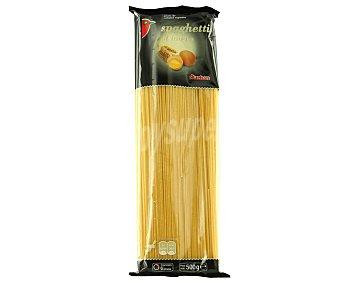 Auchan Espaguetis, pasta de sémola de trigo duro de calidad superior al huevo 500 Gramos