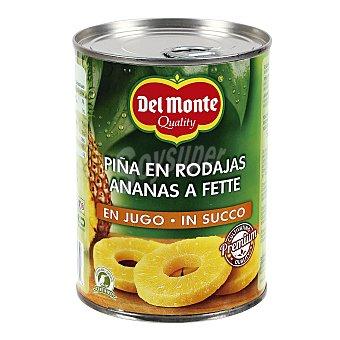 Del Monte Piña en rodajas en su jugo natural Lata 350 g