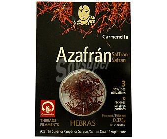Carmencita Azafrán en hebras 0,375 g