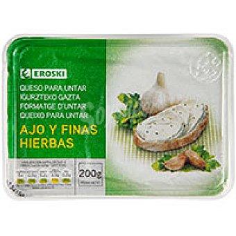 Eroski Queso para untar a las finas hierbas Tarrina 200 g