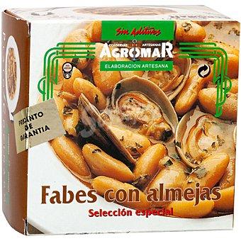 Agromar Fabes con almejas Lata 355 g neto escurrido