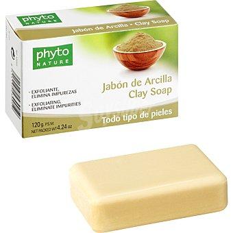 Luxana Phyto Nature Pastilla de jabón de Arcilla exfoliante y elimina impurezas para todo tipo de pieles Pastilla 120 g