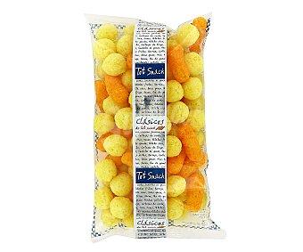 Tot Snack Snack de bolas de maíz con sabor a queso Bolsa de 110 g