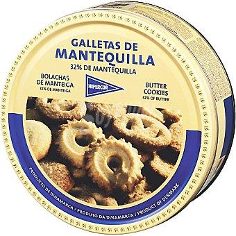 Hipercor Galletas de mantequilla Lata 454 g