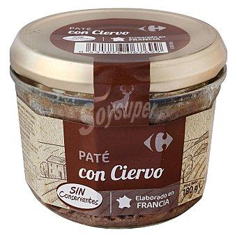 Carrefour Paté de ciervo 180 g