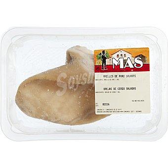 E.MAS Oreja de cerdo salada peso aproximado Bandeja 400 g