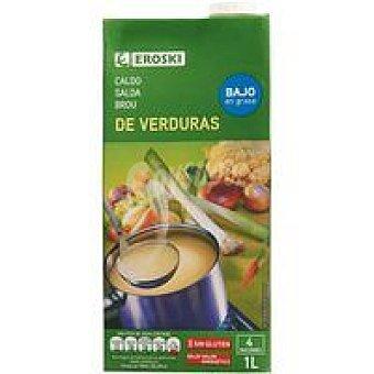 Eroski Caldo de verduras Brik 1 litro