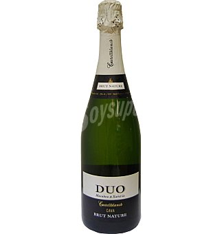 Cava dúo catellblanch brut nature 70 cl