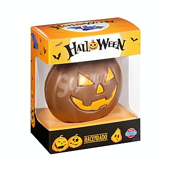 Hacendado Calabaza de chocolate con leche halloween 1 u - 75 g