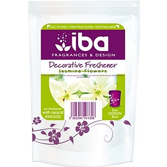 Iba Ambientador gel decorativo flores jazmín Envase 1 unidad