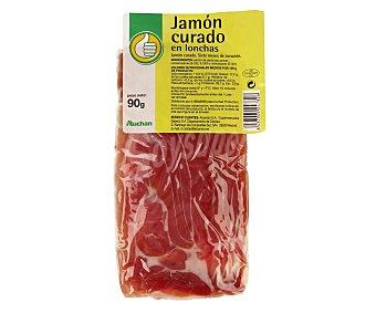 Productos Económicos Alcampo Jamón curado 90 gramos