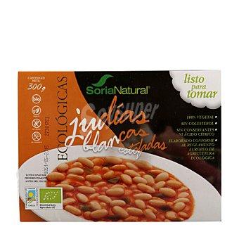 Soria Natural Judía Blanca Estofada con Verduras 350 g