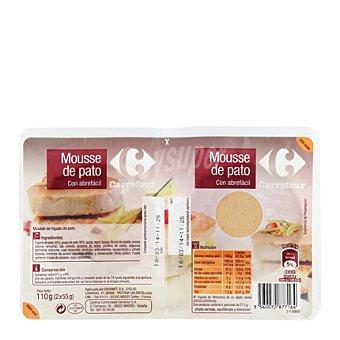 Carrefour Mousse de pato al Oporto 150 g