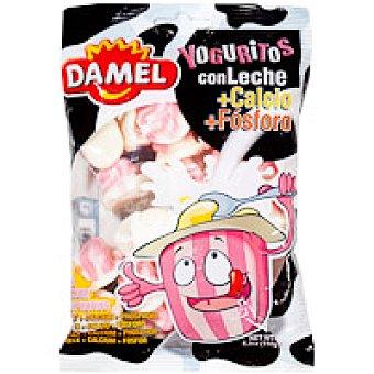 Damel Yoguritos con leche Bolsa 150 g