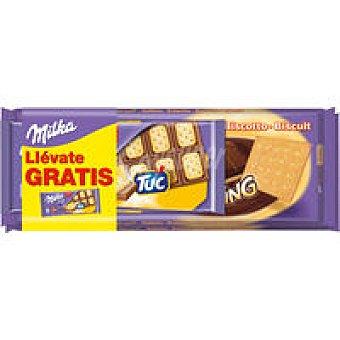 Milka 2 Milka Chocos Wing +tuc Paquete 687 g