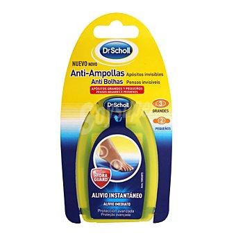 Scholl Apósitos Anti-ampollas mixto 5 ud