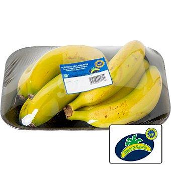Plátano de Canarias peso aproximado Bandeja 1 kg