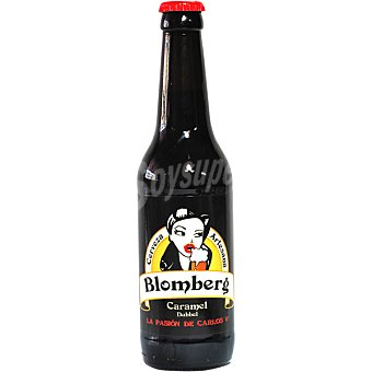 BLOMBERG CARAMEL Cerveza rubia de Extremadura botella 33 cl Botella 33 cl